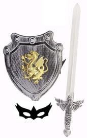 Щит с мечом и маской