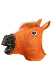Латексная маска голова Лошади