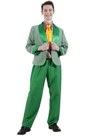 Зеленый костюм стиляги