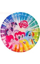 Бумажные тарелки My Little Pony 6 шт