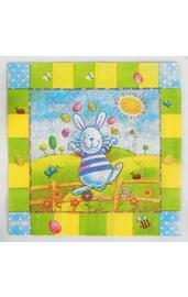 Бумажные салфетки Пасхальный заяц 20 шт