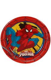 Бумажные тарелки Человек Паук Суперсила 8 шт