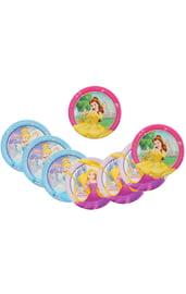 Бумажные тарелки Принцессы Дисней 8 шт