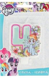 Свеча четверка My Little Pony