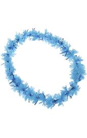 Синее гавайское ожерелье