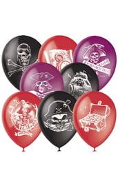 Латексные шары Пираты 50 шт