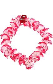 Гавайское розовое ожерелье