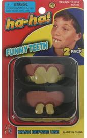 Прикол Смешные зубы