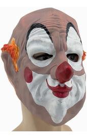 Латексная маска страшного клоуна