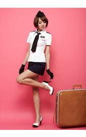 Костюм милой стюардессы