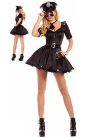 Черный костюм Полицейской
