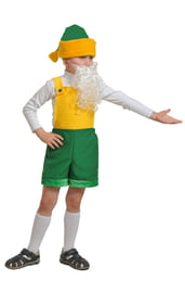 Детский костюм малыша Гномика
