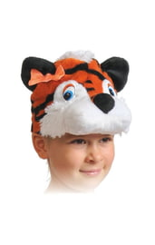 Плюшевая маска Тигрицы