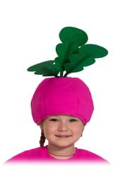 Детская шапка Редиска