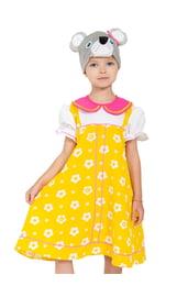 Детский костюм Мышки-норушки в желтом