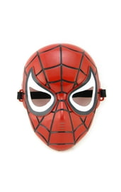 Детская светящаяся маска Человека Паука
