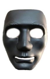 Маска черная Лицо
