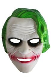 Маска Джокера с зелеными волосами
