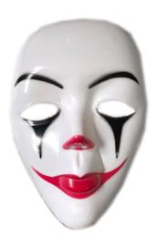 Белая маска Грустного клоуна