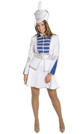 Взрослый костюм Белой Барабанщицы