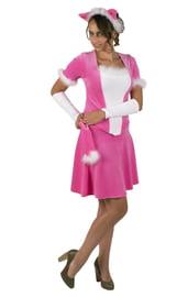 Взрослый костюм Розовой кошки