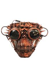 Бронзовая маска Скелета Стимпанк