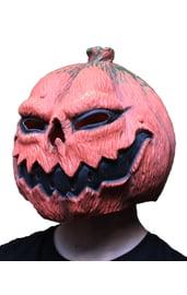 Круглая маска тыква