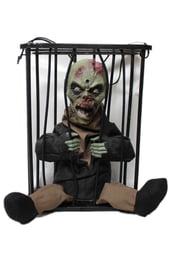 Декорация Зомби в клетке