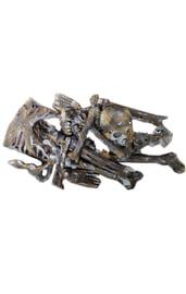 Большой набор костей в лохмотьях