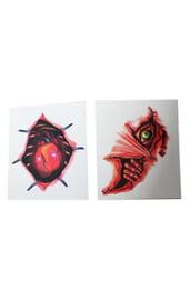 Татуировки Глаз и сердце