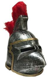 Шлем рыцарский с перьями