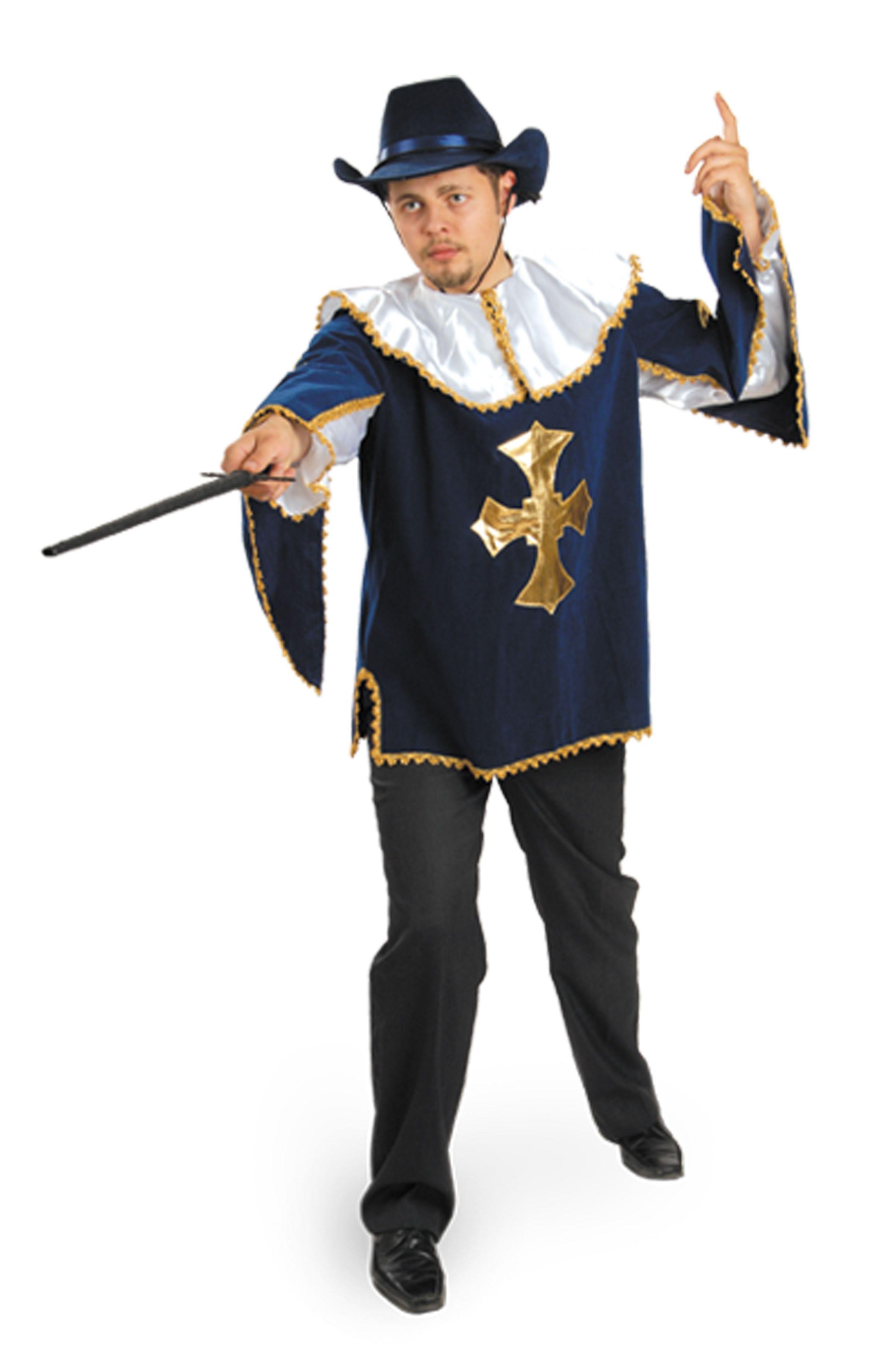 купить Костюм мушкетера бархат (50) недорого