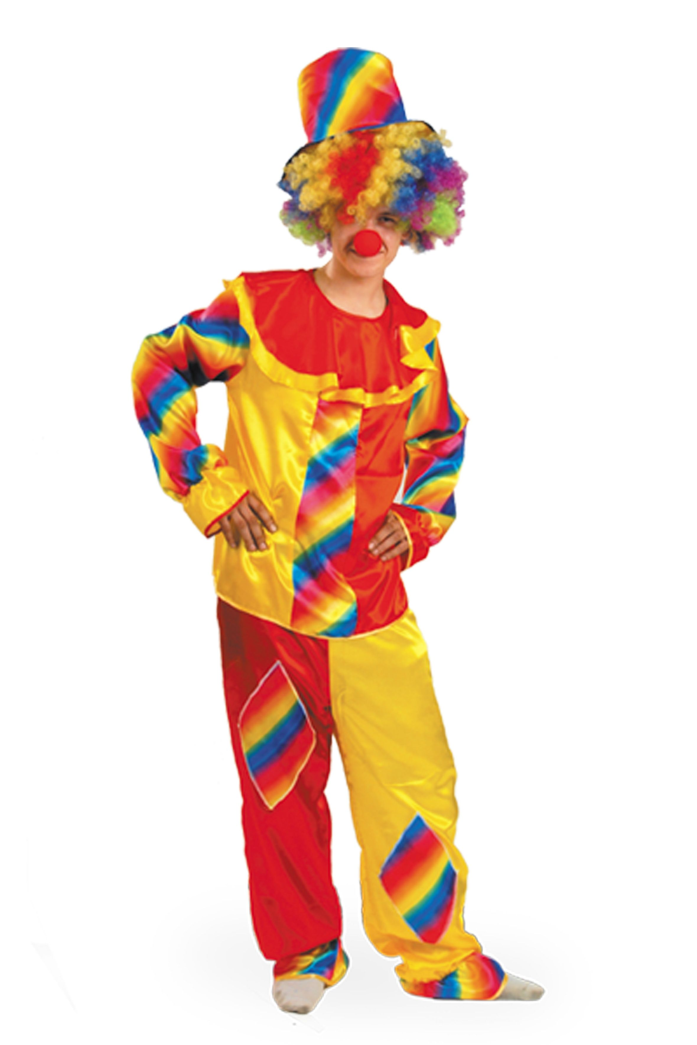 Костюм клоуна на взрослого своими руками фото