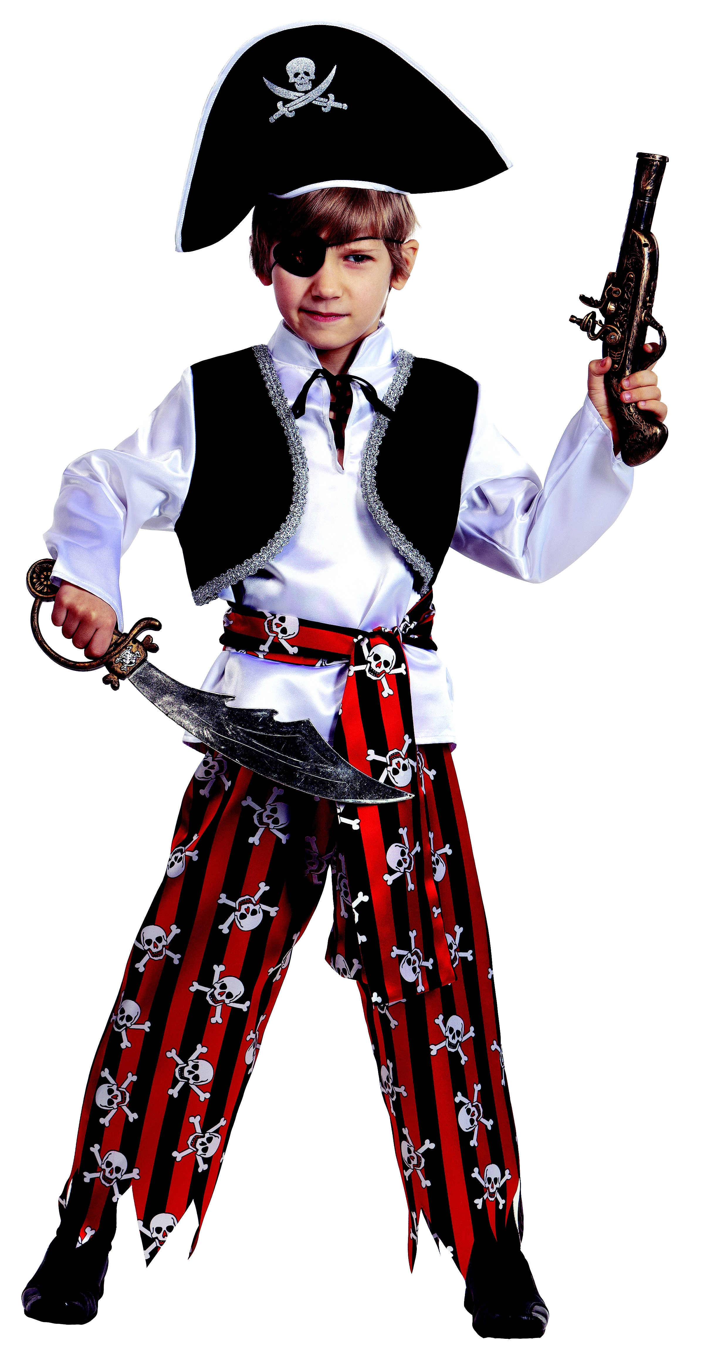 купить Костюм пирата детский (40) недорого