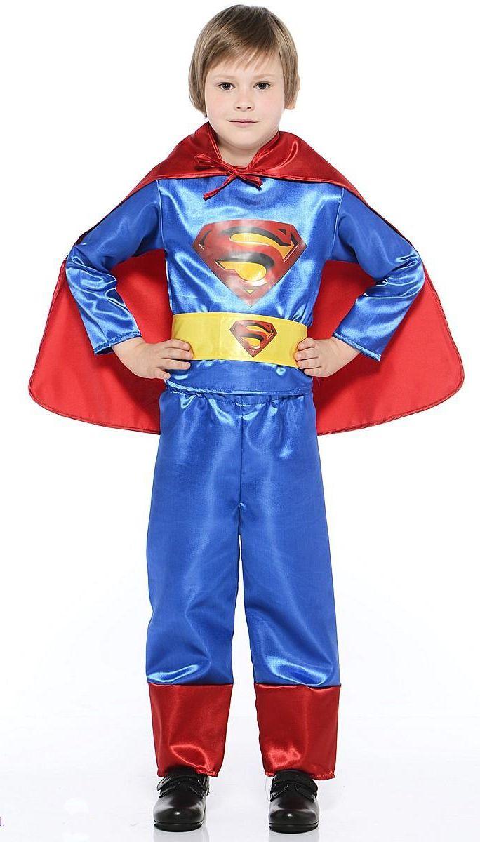 Костюм супермена детский (34) детский костюм фиолетовой феи виндс 34