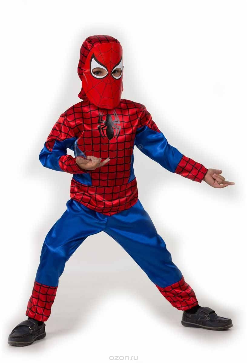 Костюм юного человека-паука (34)