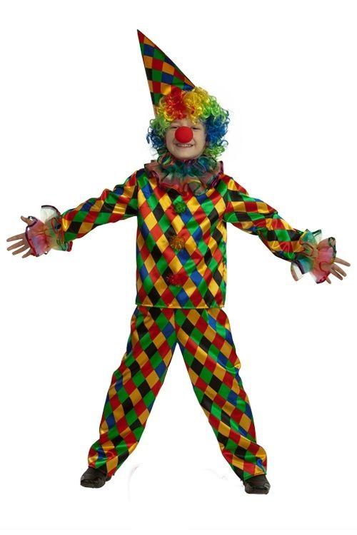 Костюм клоуна детский (34) детский костюм фиолетовой феи виндс 34