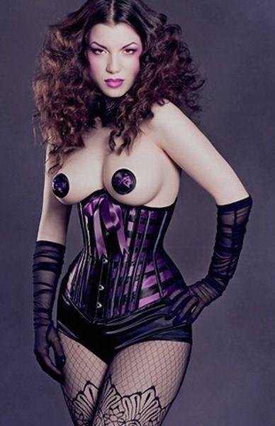 Корсет на талию фиолетовый (42) Mia Lover LC5150