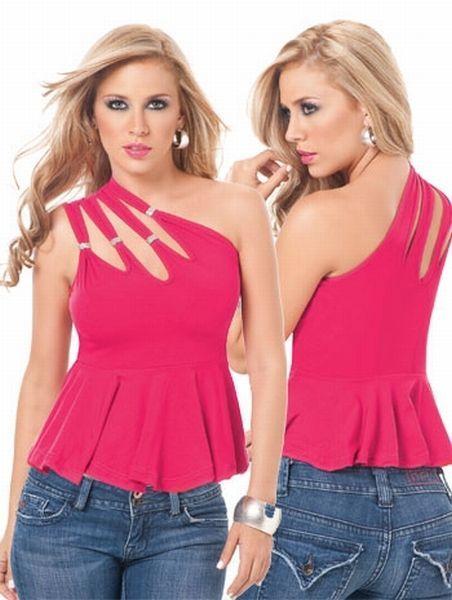 Кофта розовая (40-44) -  Сорочки и туники
