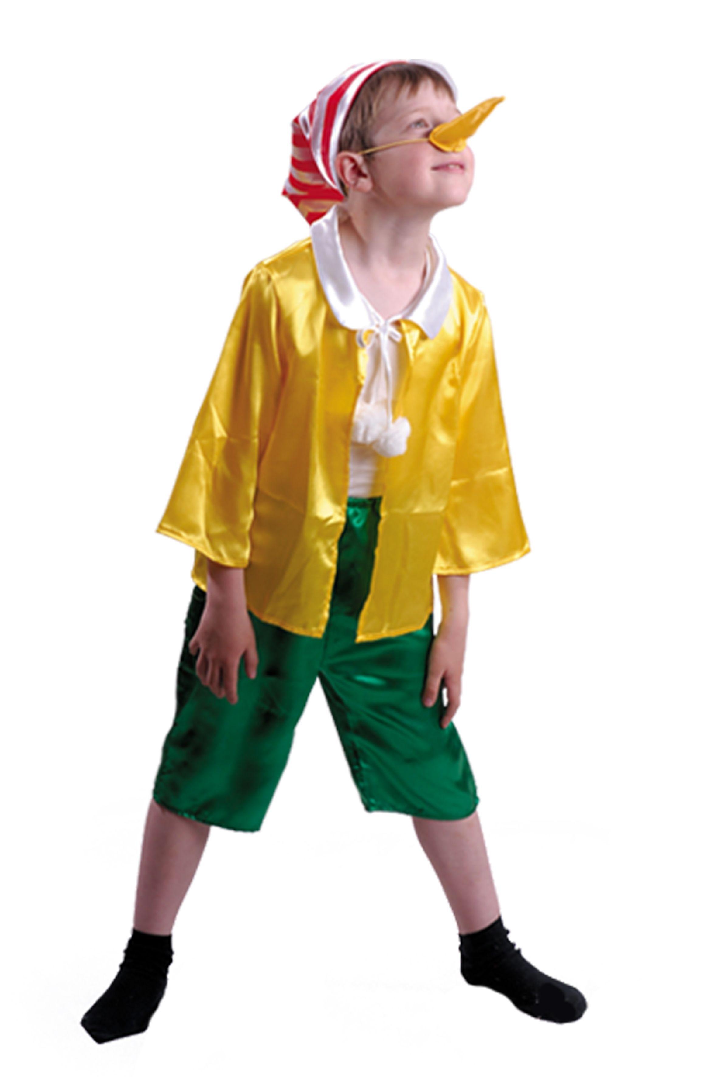 Костюм буратино детский (34) детский костюм озорного клоуна 34