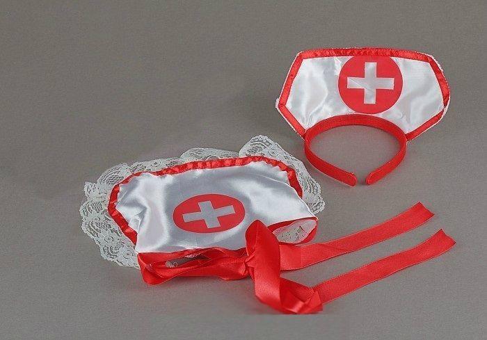 Набор для медсестры (UNI) передник медсестры 42 44