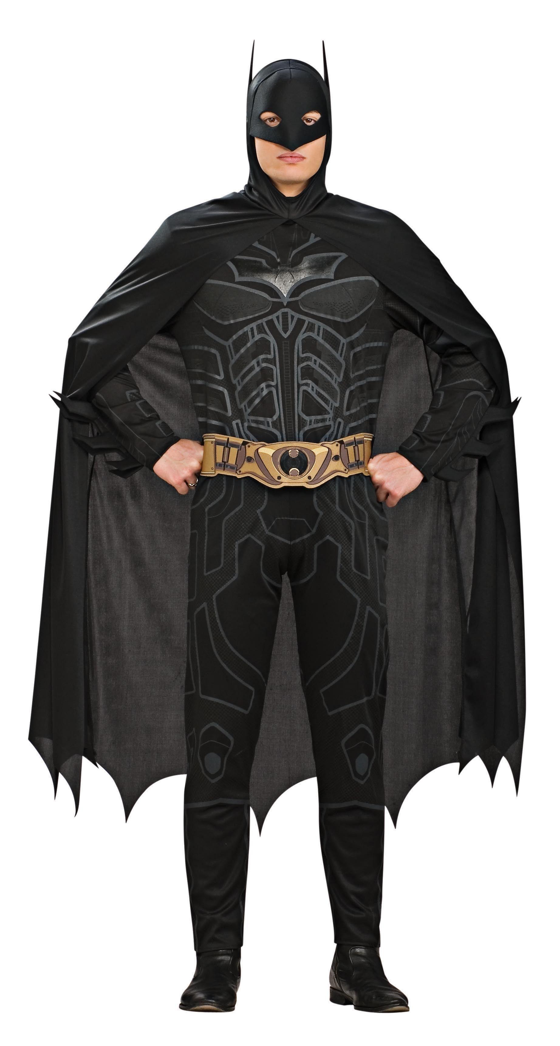 Костюм Бэтмена черный (54) rubies костюм бэтмена вторая кожа