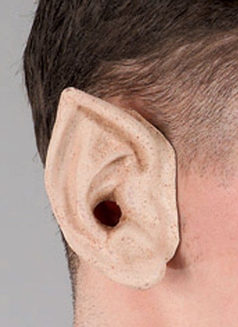 Уши эльфа - Грим и шрамы