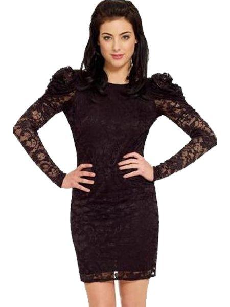 Купить со скидкой Платье кружевное с открытой спиной (40-44)