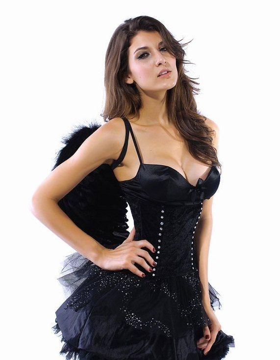 Костюм сексуального темного ангела (42) от Vkostume
