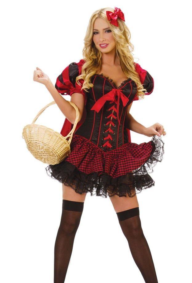 Костюм красной шапочки красотки (46) костюм красотки канкана 46 48