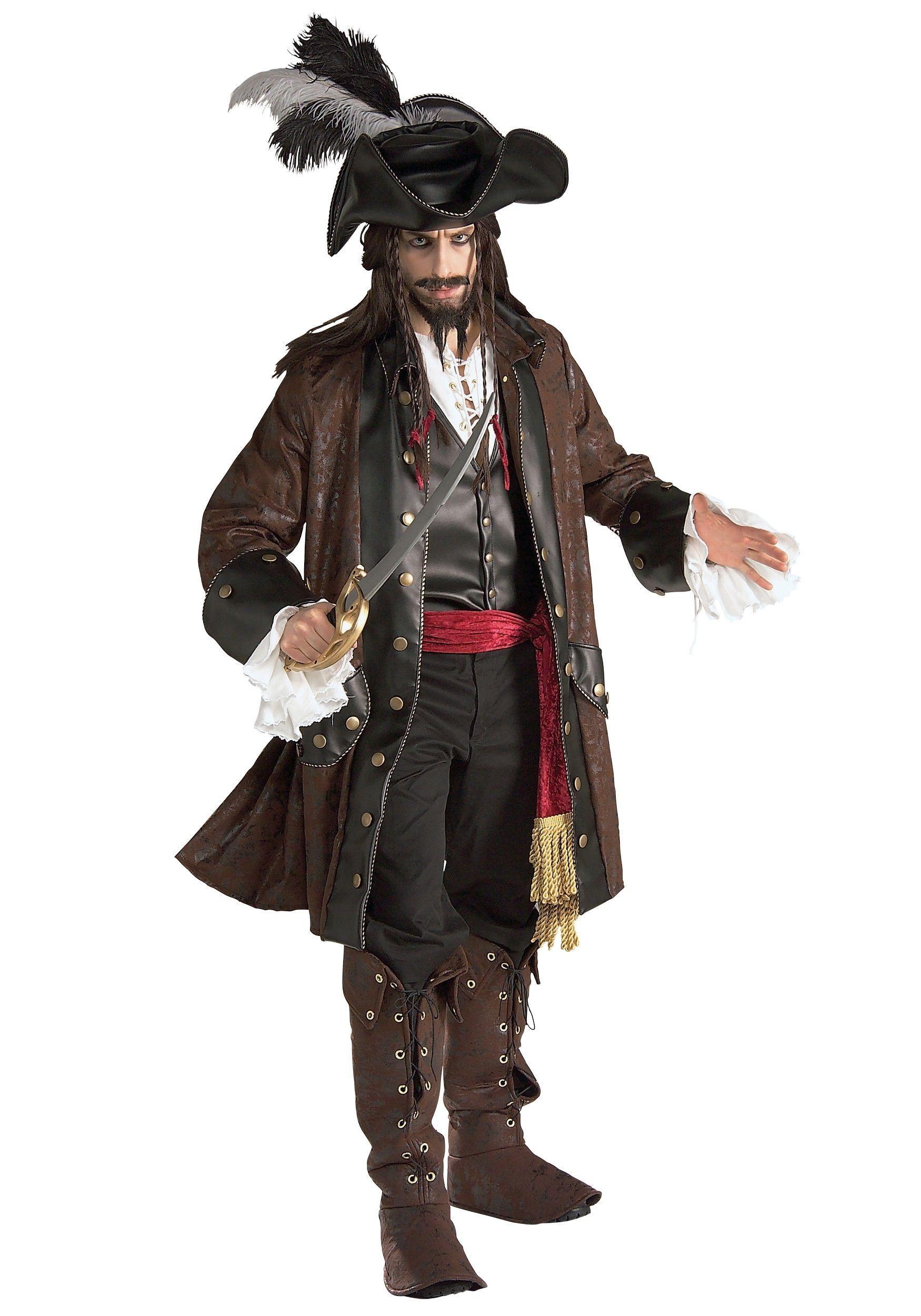 Костюм карибского пирата Deluxe (48) от Vkostume