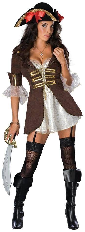 Костюм сексуальной пиратки (44) - Пираты и моряки, р.44