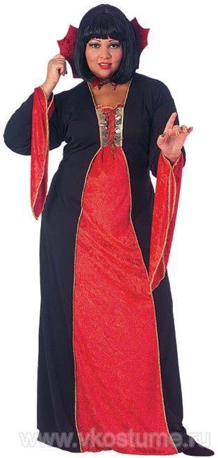 Костюм вампирши XL (42-46) -  Костюмы больших размеров