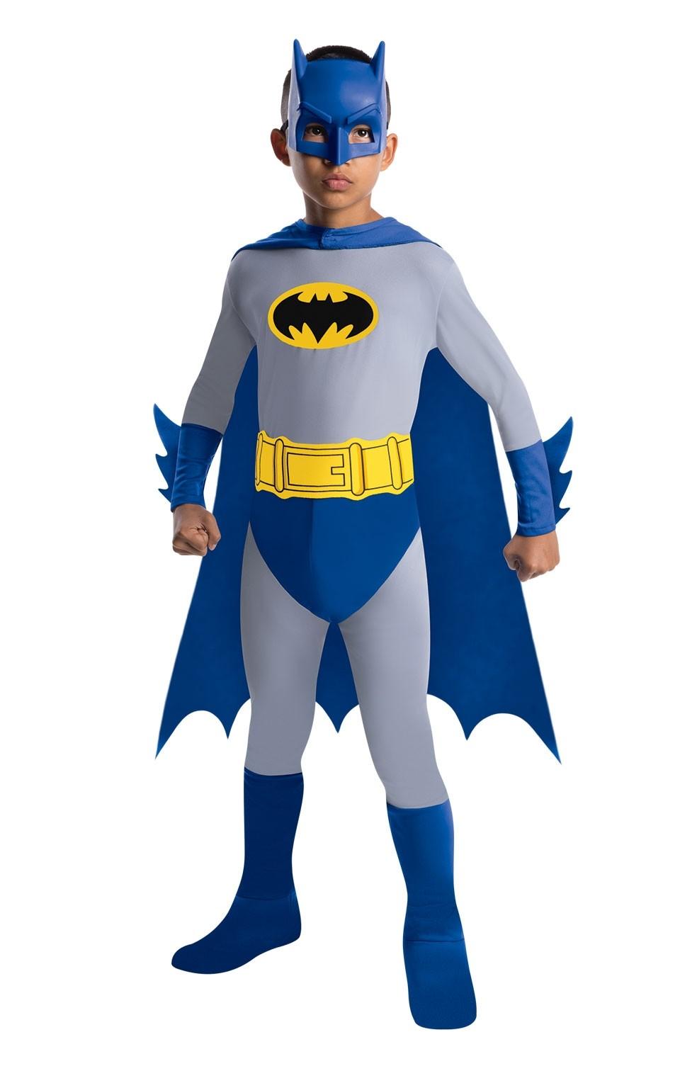 Костюм Бэтмена синий (32-34) детский костюм озорного клоуна 34